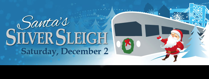 enjoy a train ride with santa on saturday december 2 learn more